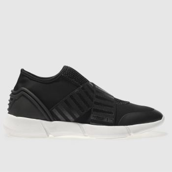 Schuh Black Trouble Womens Trainers