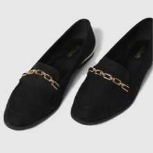schuh Lottie Chain Detail Loafer 1
