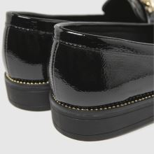 schuh Lora Croc Chain Loafer 1