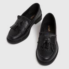 schuh Lorri Croc Leather Loafer,3 of 4