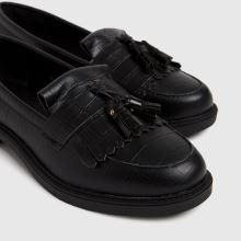 schuh Lorri Croc Leather Loafer,4 of 4