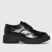 schuh Leebo Patent Brogue Lace Up,1 of 4