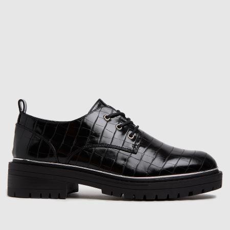 schuh Lesley Croc Lace Up Shoetitle=
