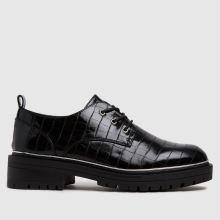 schuh Lesley Croc Lace Up Shoe,1 of 4