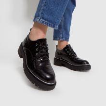 schuh Lesley Croc Lace Up Shoe,2 of 4