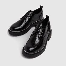 schuh Lesley Croc Lace Up Shoe,3 of 4