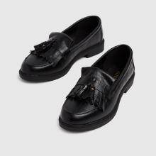 schuh Wide Fit Lorri Croc Loafer 1