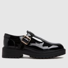 schuh Wide Fit Lani Patent T-bar,1 of 4
