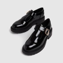 schuh Wide Fit Lani Patent T-bar,3 of 4