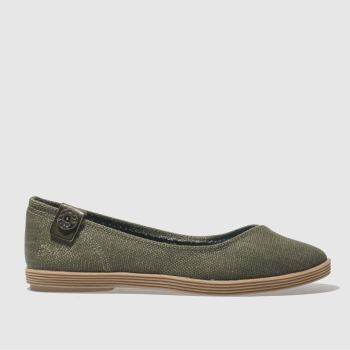 Blowfish Khaki Gian Womens Flats