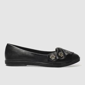 Blowfish Black Garden Womens Flats