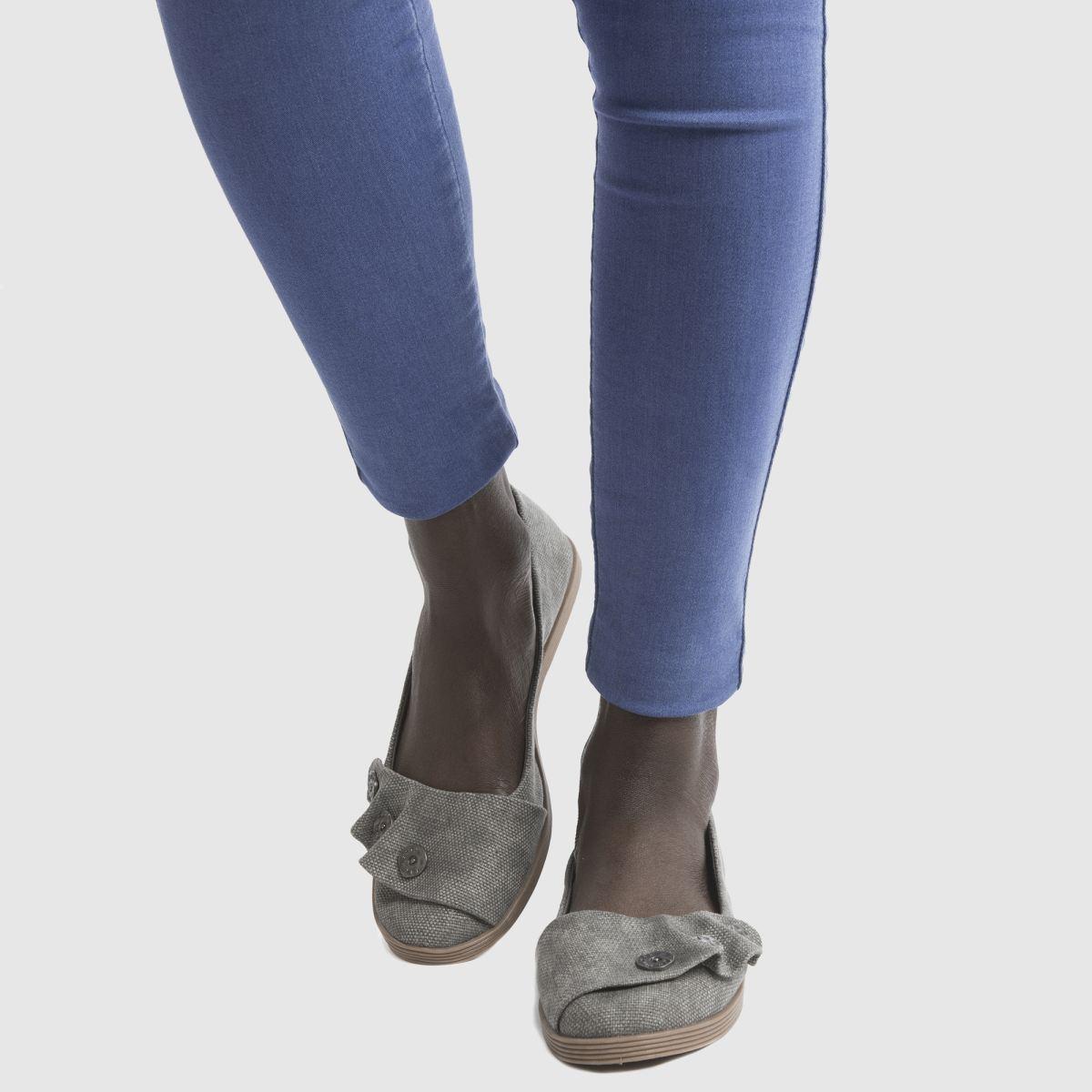 Damen Dunkelgrau blowfish Garden Flats   schuh Gute Qualität beliebte Schuhe
