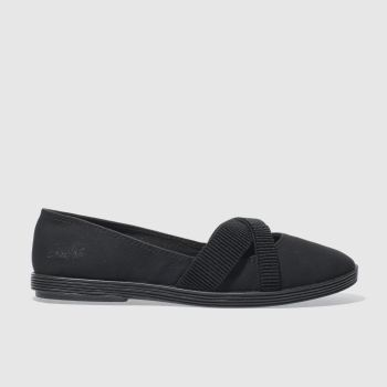 Blowfish Black Gabie Womens Flats