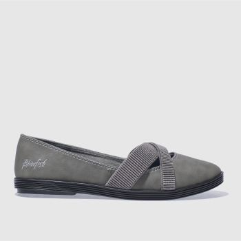 Blowfish Grey Gabie Womens Flats