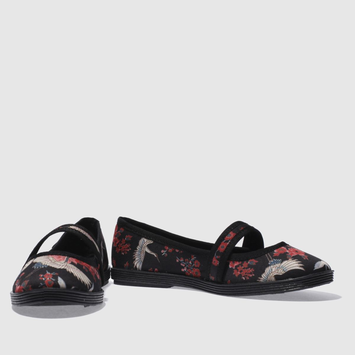 Damen Schwarz-rot blowfish Goji Gute Haiku Flats | schuh Gute Goji Qualität beliebte Schuhe cceea2