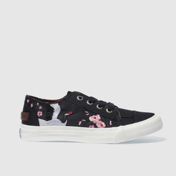 Blowfish Navy Maki Womens Trainers