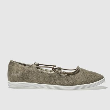 Blowfish Bronze Gastby Womens Flats