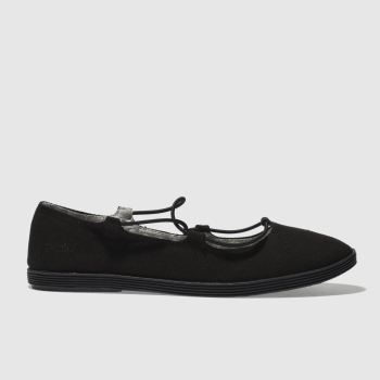 Blowfish Black Gastby Womens Flats