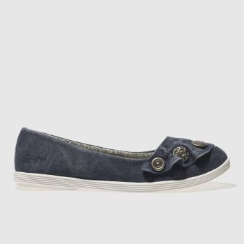Blowfish Blue Gayls Womens Flats