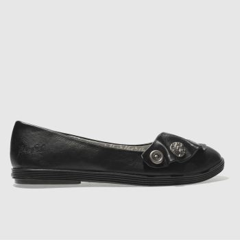 Blowfish Black GAYLS Flats