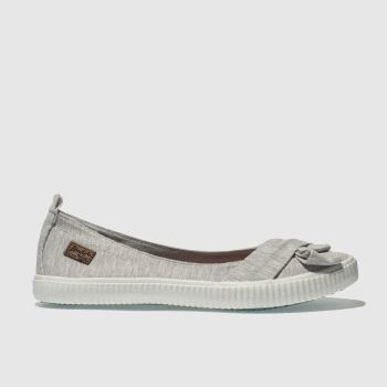 Blowfish Light Grey Sansa Womens Flats