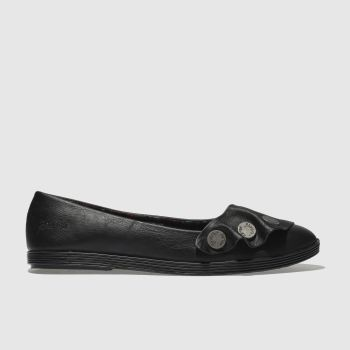 Blowfish Black Galena Womens Flats