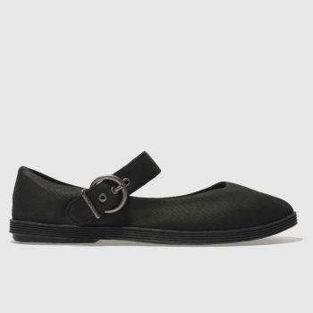 Blowfish Black Getaway Womens Flats