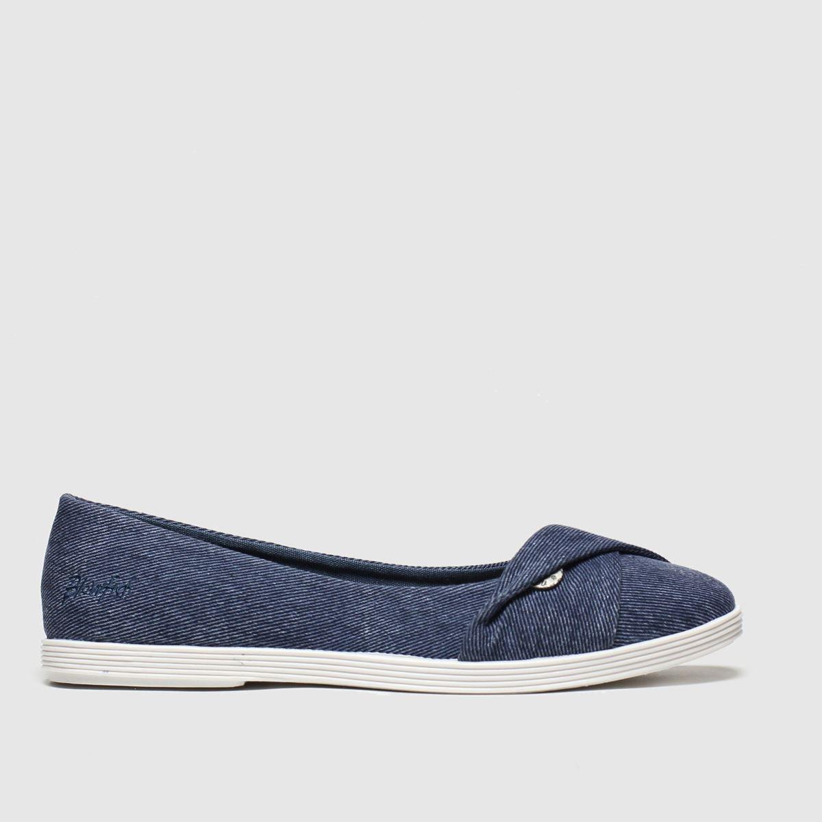 Blowfish Malibu Blue Tizzy Flat Shoes