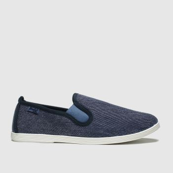 Blowfish Blue Gadget Womens Flats