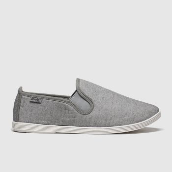 Blowfish Malibu Light Grey Gadget Womens Flats