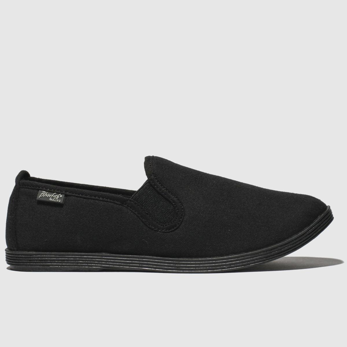Blowfish Malibu Black Gadget Flat Shoes