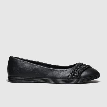 Blowfish Malibu black giddie flat shoes