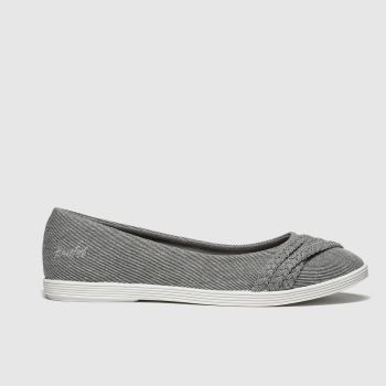 Blowfish Grau Giddie Damen Flats
