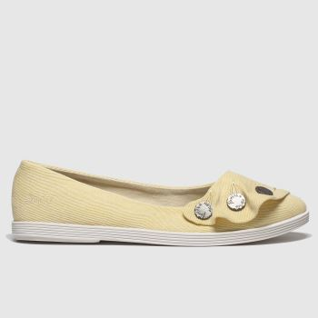 Blowfish Malibu Yellow Gogogo Womens Flats