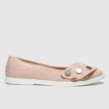 Blowfish Malibu Pale Pink Gogogo Womens Flats