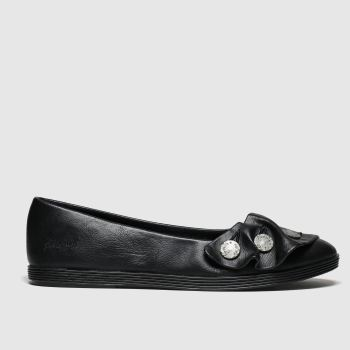Blowfish Malibu Black Gogogo Vegan Womens Flats
