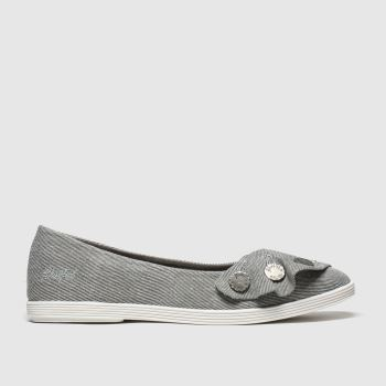 Blowfish Malibu Grey Gogogo Womens Flats