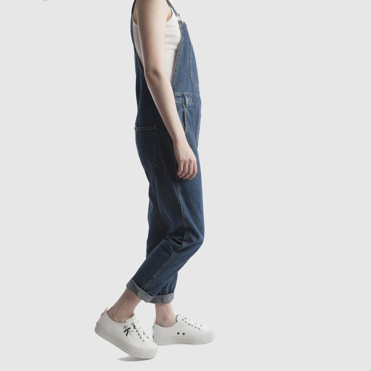 Damen Weiß-schwarz calvin klein Jeans Zolah Canvas Sneaker   Schuhe schuh Gute Qualität beliebte Schuhe   75f420