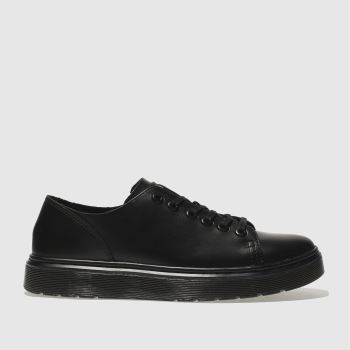 Dr Martens Black Dante 6 Eye Shoe Flats
