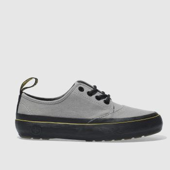 Dr Martens Grey Jacy 4 Eye Womens Flats