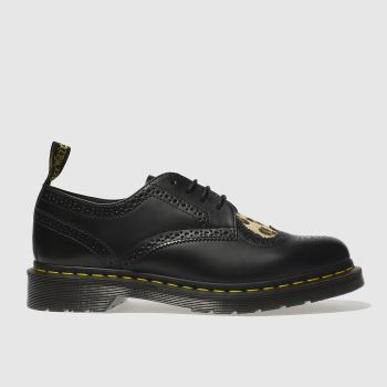 Dr Martens Black & Brown JOYCE HEART Flats