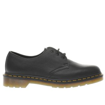 DR MARTENS BLACK 1461 3 EYE SHOE FLAT SHOES