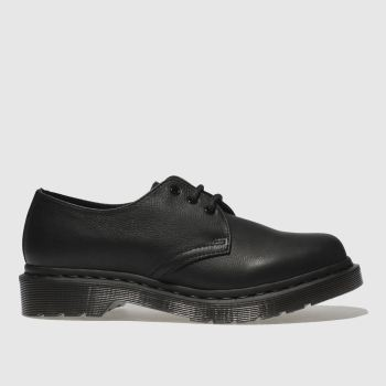 Dr Martens Black 1461 3 Eye Womens Flats
