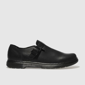 DR MARTENS BLACK PATRICIA III FLAT SHOES