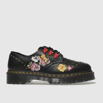 DR MARTENS BLACK SEROVA FLAT SHOES