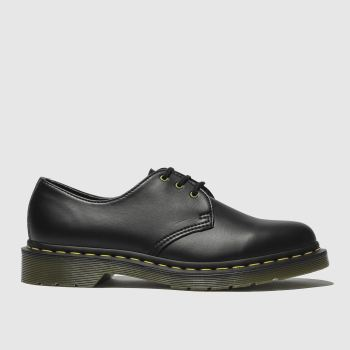 Dr Martens Black 1461 Vegan Felix Rub Off Womens Flats