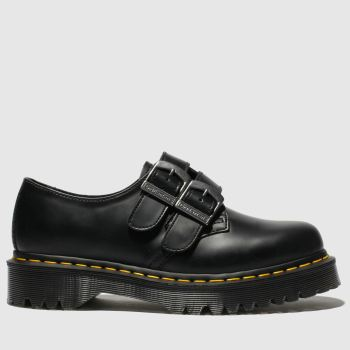 Dr Martens Black 1461 Alternative Womens Flats