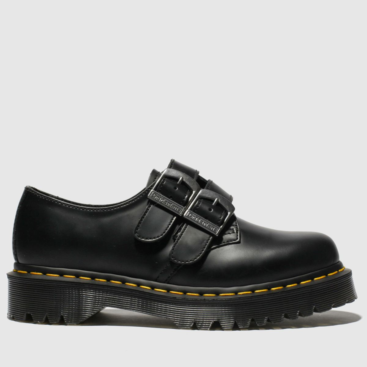Dr Martens Black 1461 Alternative Flat Shoes