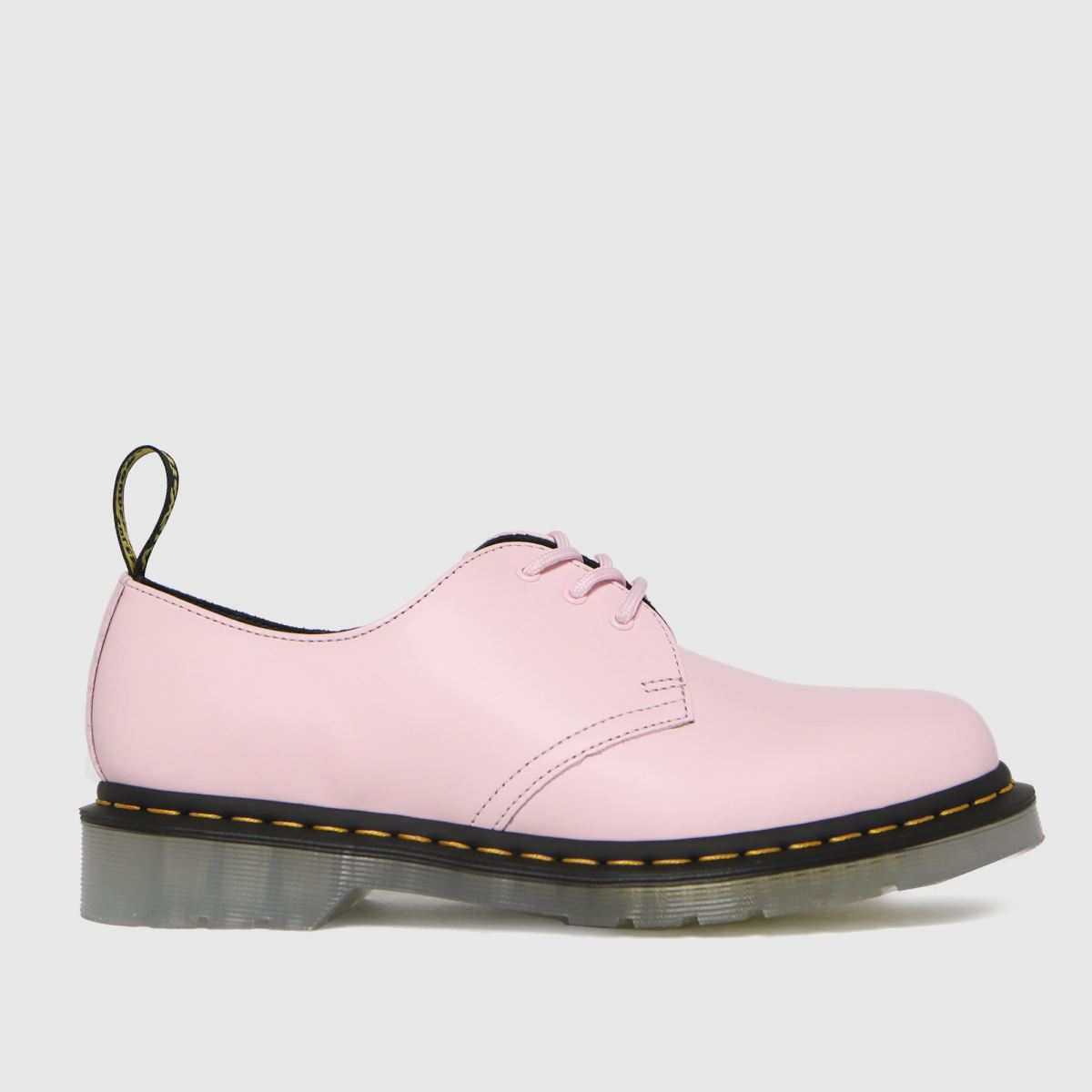 Dr Martens Pale Pink 1461 Iced Flat Shoes