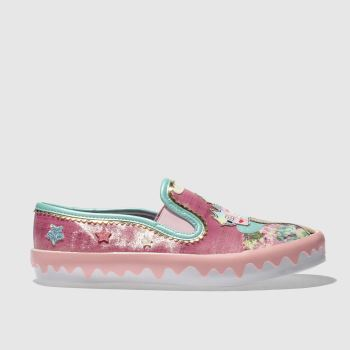 Irregular Choice Pink Mistys Castle Womens Flats